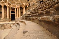Free Amphitheatre Auditorium, Bosra Stock Photos - 17312493