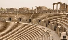 Free Amphitheatre Auditorium, Bosra Royalty Free Stock Photo - 17312525