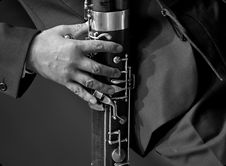 Free Bassoonist On Chamber Music Royalty Free Stock Photography - 17313217