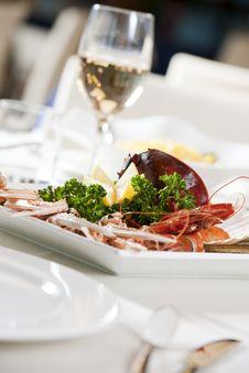 Free Shellfish Dish Stock Image - 17313341
