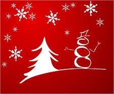 Free Snowman Royalty Free Stock Photos - 17313418