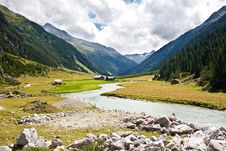 Free River Up In Mountains Royalty Free Stock Photo - 17313595