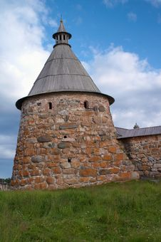 Free Towers Of Solovetsky Monastery Stock Photography - 17315762