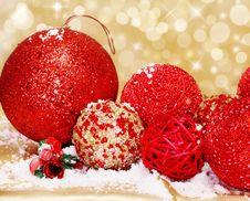 Free Christmas Balls Stock Photography - 17316462