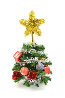 Free Decorated Christmas Tree Stock Images - 17316484