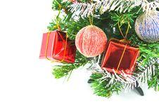 Free Decorated Christmas Tree Stock Image - 17316501