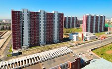 Free Beijing Apartment And Residential Building Royalty Free Stock Photos - 17316558