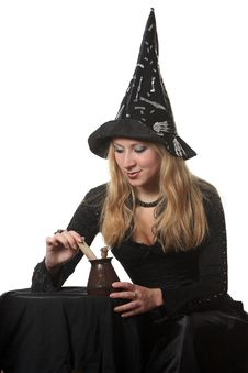 Free A Witch Stock Images - 17317014
