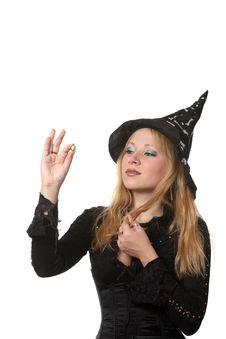Free A Witch Royalty Free Stock Image - 17317026