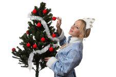 Free Snow Maiden Royalty Free Stock Photos - 17317038