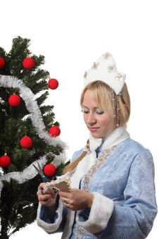 Free Snow Maiden Royalty Free Stock Images - 17317039