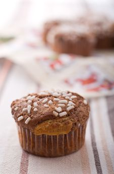 Free Chocolate Muffin Royalty Free Stock Images - 17317329