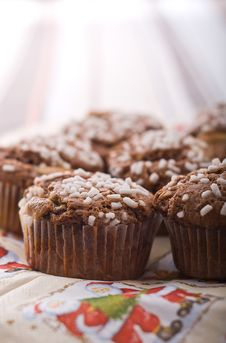 Free Chocolate Muffin Stock Image - 17317361