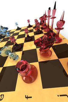 Free Chess Glass-2 Royalty Free Stock Image - 17317556