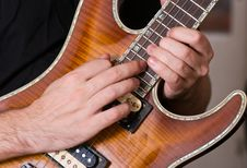 Free Guitar Playing Stock Photography - 17318212