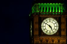 Free Big Ben (St Stephen S Tower) By Night Stock Photo - 17318230