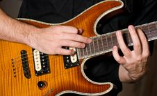 Free Guitar Playing Royalty Free Stock Images - 17318239