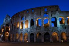 Free Coliseum At Sunrise Stock Photo - 17318270