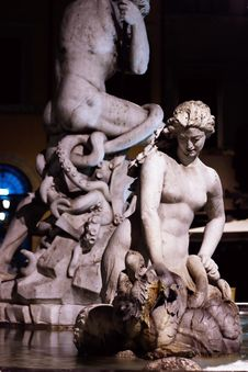 Free Detail Of Neptune Fountain Stock Image - 17318311