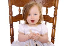 Free Baby Girl Royalty Free Stock Images - 17318319