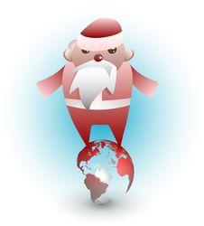 Free Global Santa Royalty Free Stock Photo - 17318535