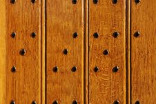 Free Durable Castle Wooden Gate Close-up Royalty Free Stock Photo - 17318575