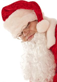 Funny Santa Claus Royalty Free Stock Photography