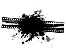 Film Grunge Background Design. Royalty Free Stock Image