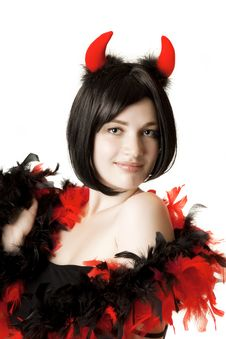 Free Beautiful Girl In Fancy Dress Stock Photo - 17319110