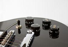 Free Guitar Volume Royalty Free Stock Image - 17319426