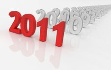 Free 2011 - Next Year Stock Photos - 17319543