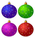Free Christmas-tree Decorations, Set Royalty Free Stock Photos - 17320318