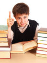 Free Boy And Books Royalty Free Stock Photography - 17325097
