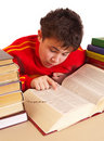 Free Boy And Books Royalty Free Stock Image - 17325396
