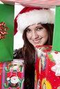 Free Happy Between Presents Stock Image - 17326151