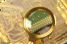 Free Computer Circuit Board Stock Photography - 17320092