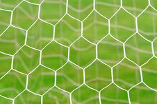 Free Closeup Of Soccer Net Royalty Free Stock Photo - 17320745