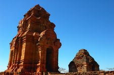 Temple Relics In Vietnam Stock Photography