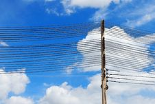 Free Electrical Towers And Power Lines Stock Photos - 17320883