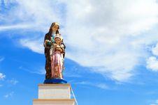 Free Maria Statue Royalty Free Stock Photos - 17320898