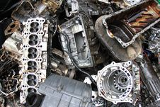Free Part Of Car Engine Stock Photography - 17321072