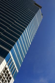 Free High Rise Building And Blue Sky Stock Photo - 17321170