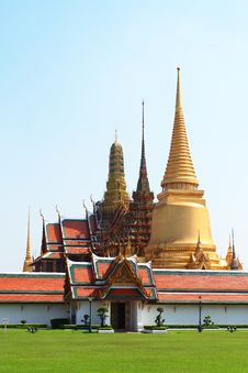 Free Thai Temple In Grand Palace Bangkok Royalty Free Stock Images - 17321349