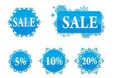 Free Christmas Sale Set Stock Photo - 17321390