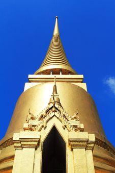 Thai Temple In Grand Palace Bangkok Stock Photos