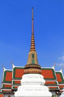 Thai Temple In Grand Palace Bangkok Stock Photo