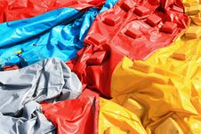 Free Colorful Plastic Tent Stock Photography - 17321712