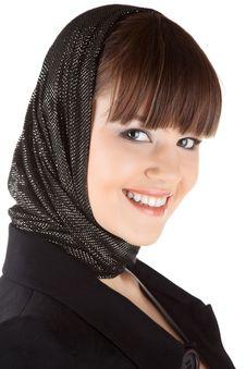 Free Beautiful Woman In Black Stock Photos - 17321723