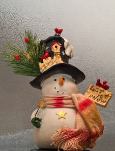 Free Snowman Decoration Royalty Free Stock Photos - 17321848