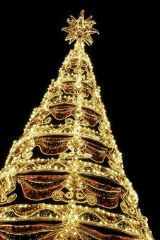 Free Beautiful Shining Abstract Christmas Trees Stock Photos - 17321923